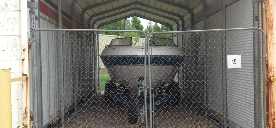 Perfect Storage for Boats!
